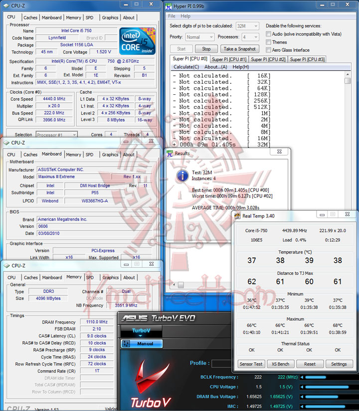 hpi 4440 ASUS MAXIMUS III Extreme Motherboard Review