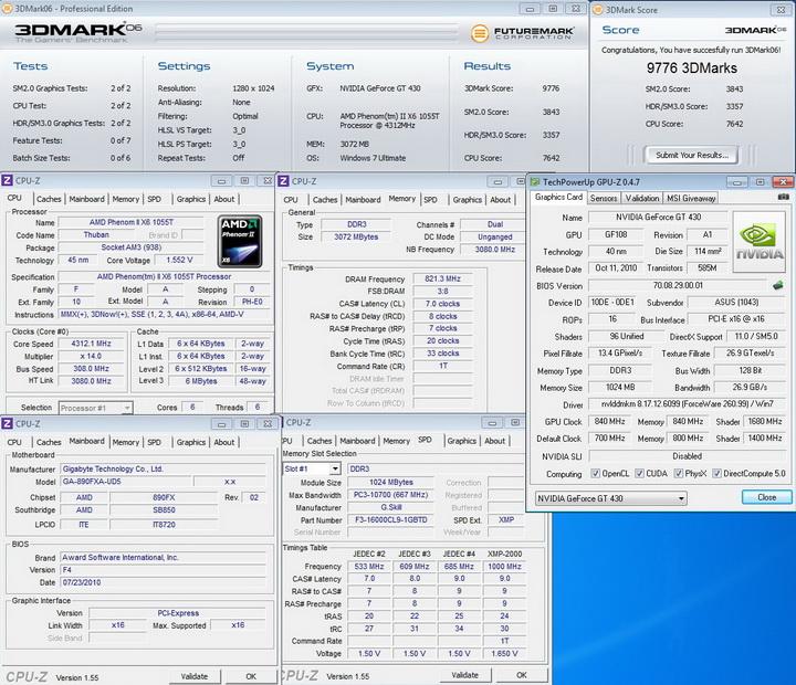 840 840 1680 ASUS ENGT430 1GB DDR3