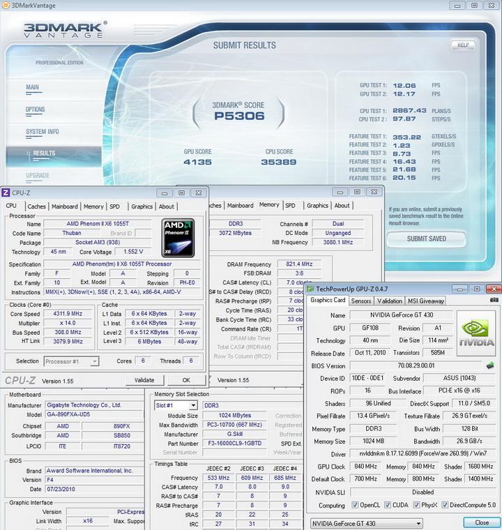 840 840 16801 ASUS ENGT430 1GB DDR3
