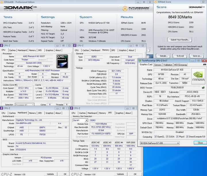 default1 ASUS ENGT430 1GB DDR3
