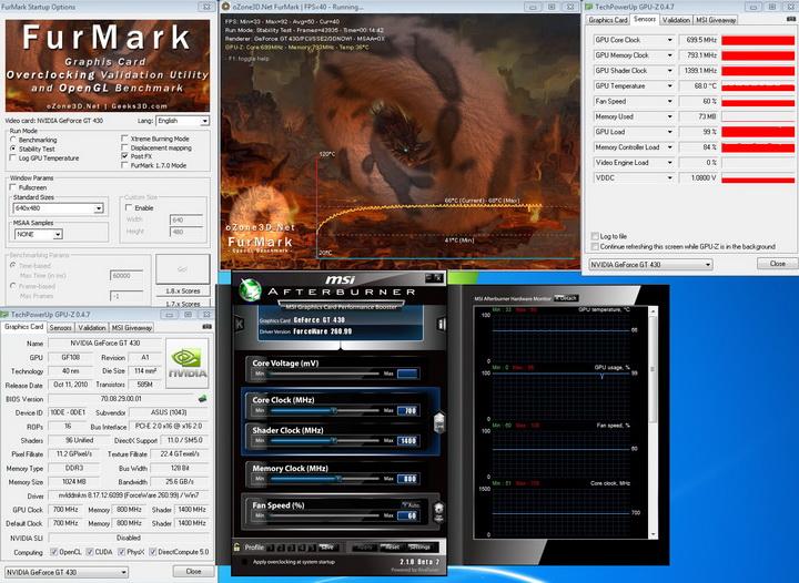 defult ASUS ENGT430 1GB DDR3