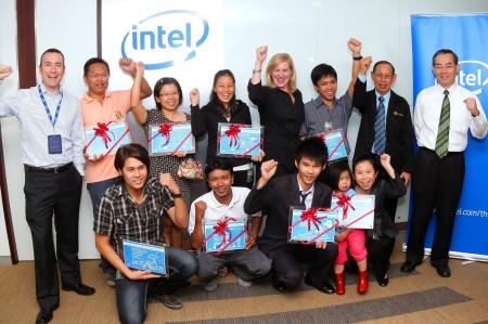 """image00226 อินเทล ประเทศไทย ประกาศผลรางวัลผู้ชนะจากกิจกรรม 'Innovator of Thailand'"""""""