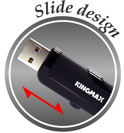 kingmax pd 02 slide Simplicity is always the fashion KINGMAX PD 02 USB flash drive