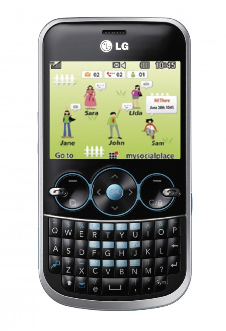 lg gw300 แอลจี ส่งมือถือ LG GW300 ใหม่ เอาใจคนชอบแชท