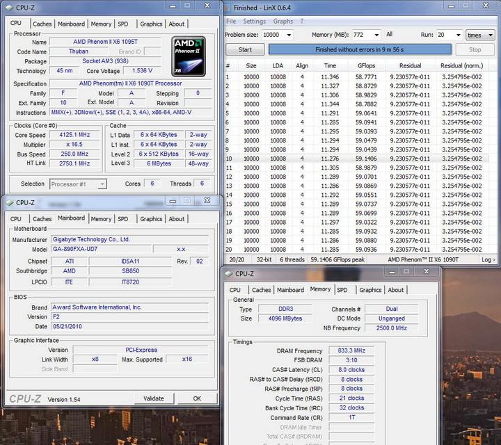 linx064 Gigabyte GA 890FXA UD7