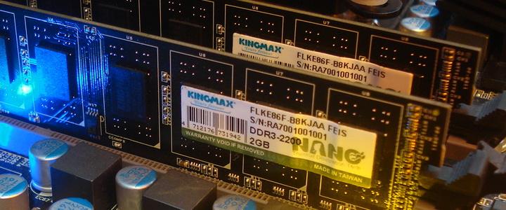 main1 KINGMAX HERCULES DDR3 EP2 @ 2,400 MHz