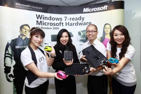 ms hardware 1 ไมโครซอฟท์เปิดตัวสุดยอดเทคโนโลยีฮาร์ดแวร์ใหม่ล่าสุด ต้อนรับวินโดวส์ 7