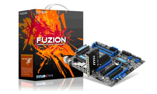 msi bigbang Big Bang Fuzion Mainboard