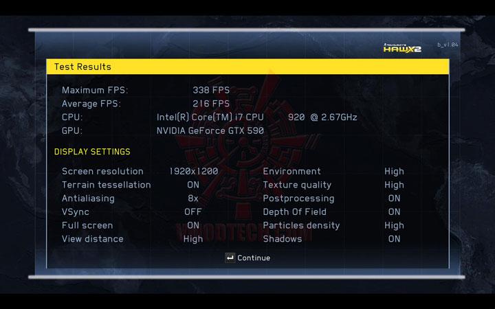 HAWX2 DX11 b NVIDIA GeForce GTX 590 3GB GDDR5 Debut Review