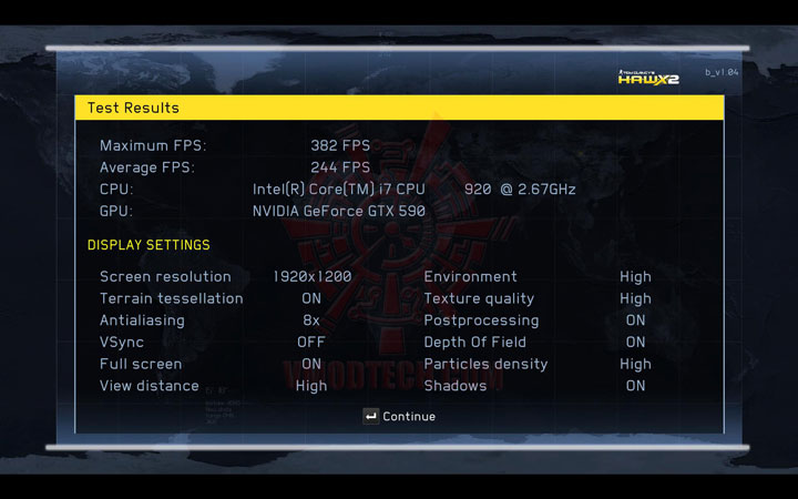 HAWX2 DX11 c NVIDIA GeForce GTX 590 3GB GDDR5 Debut Review