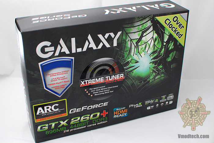 1 Review : Galaxy Geforce GTX260+