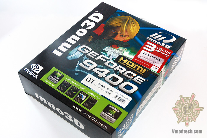 1 Inno3D Geforce 9400GT DDR2 1024mb