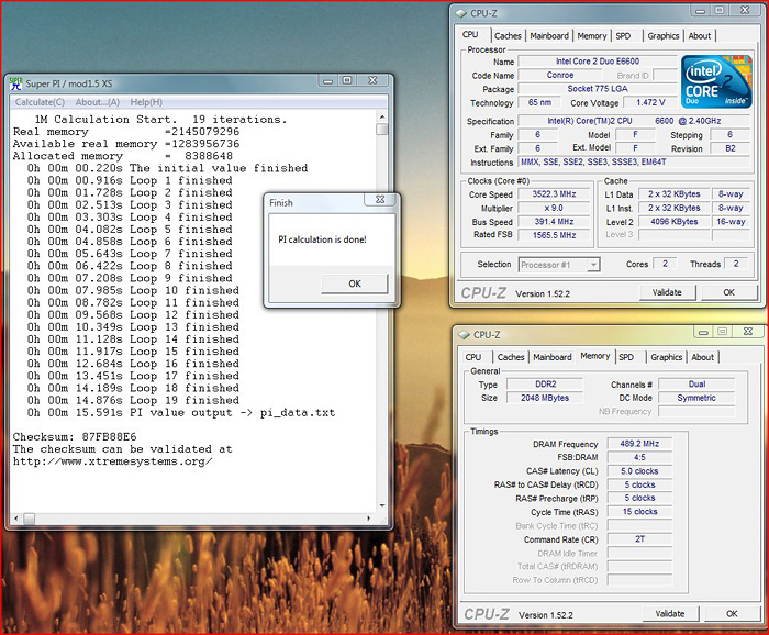 pi1m vsta Windows 7 Final RTM: Review and Performance comparison