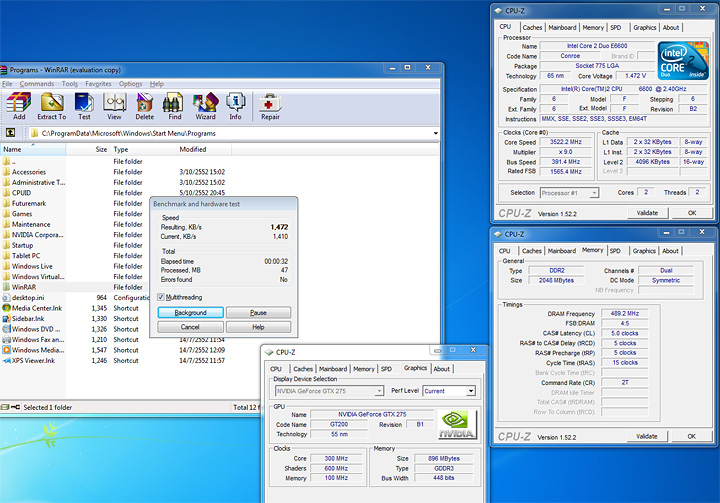 rar 7 copy Windows 7 Final RTM: Review and Performance comparison