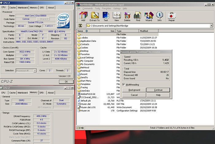 rar xp Windows 7 Final RTM: Review and Performance comparison