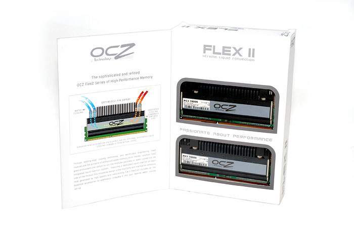 oczflex 001 OCZ DDR3 PC3 16000 Flex II XLC Edition