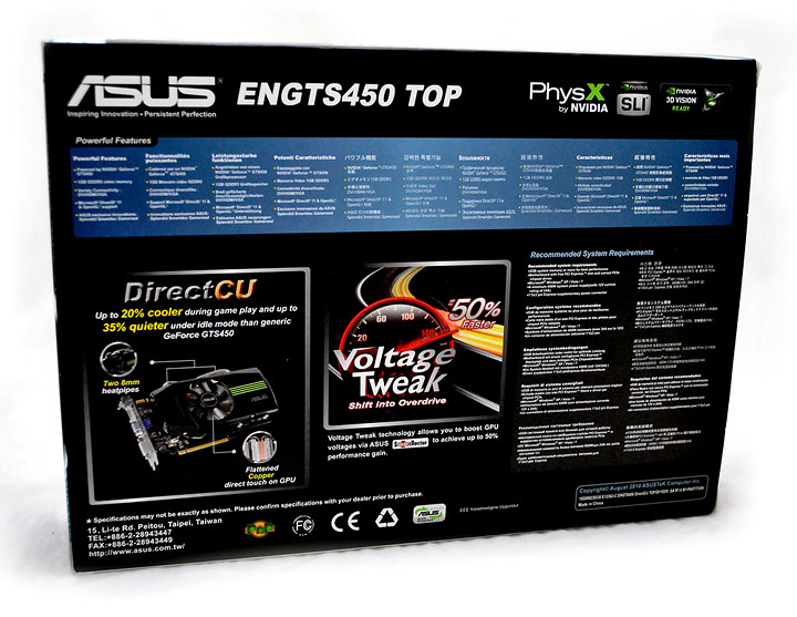 p2 Asus ENGTS450 TOP Review