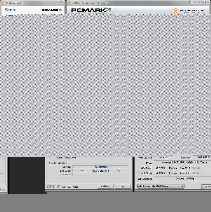 pcmark05 4400 ทดสอบจริง GIGABYTE P55 UD4P