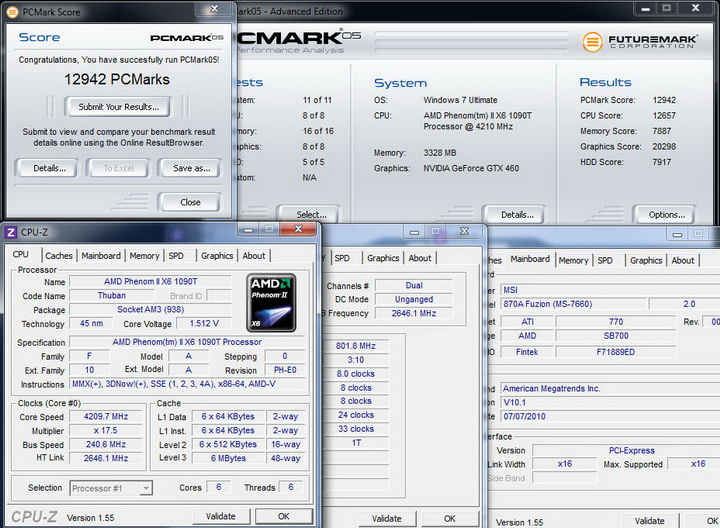 pcmark0514 MSI 870A Fuzion  Review  Cool......