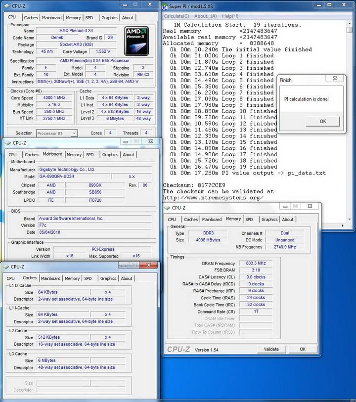 pi1m23 Gigabyte 890GPA UD3H  Unlock Core