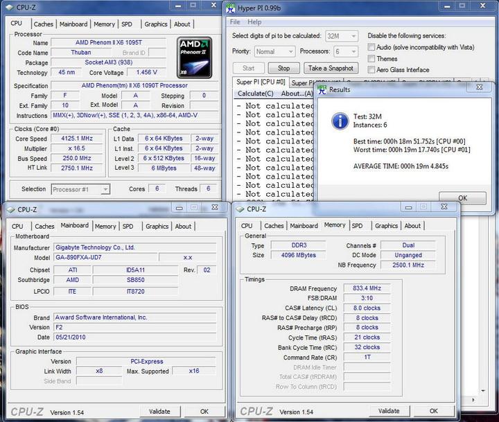pi6core32 Gigabyte GA 890FXA UD7
