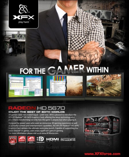 pic00905 XFX ATI RadeonTM HD 5670 Graphics Card's Got Game – And Much More!