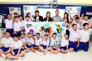 pic 0019 เอชพีจัดโรดโชว์สานฝันแอนิเมเตอร์รุ่นเยาว์ ดันเยาวชนไทยสู่เวทีระดับภูมิภาคกับ Toon Creator Awards