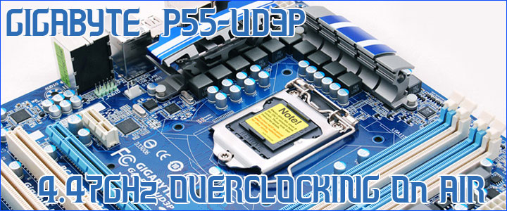 post001 Intel Core i5 750 GIGABYTE P55 UD3P overclocking test