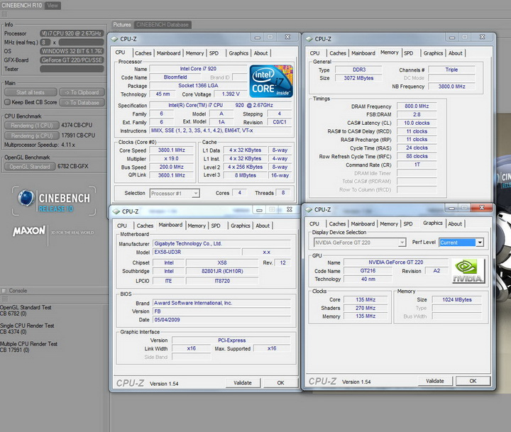 r1010 Palit GT220 DDR3 1024MB Review