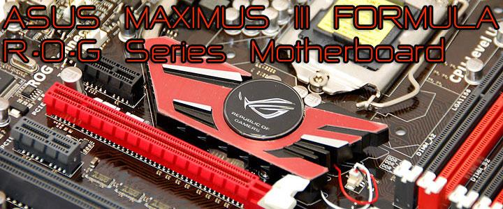 rog p ASUS MAXIMUS III FORMULA Overclocking Test