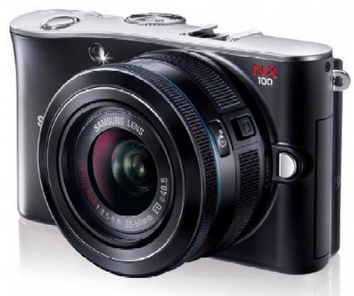 samsung nx 100 ซัมซุงเปิดตัวกล้องคอมแพคเปลี่ยนเลนส์ได้ NX100 ครั้งแรกในโลก