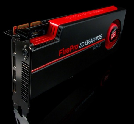 small v8800 angle8 AMD ATI FirePro V8800 Workstation Graphics Card
