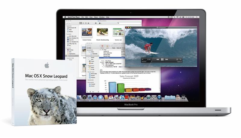 snow leopard แอปเปิ้ล เตรียมส่ง Mac OS X Snow Leopard ลงตลาดวันที่ 2 กันยายนนี้