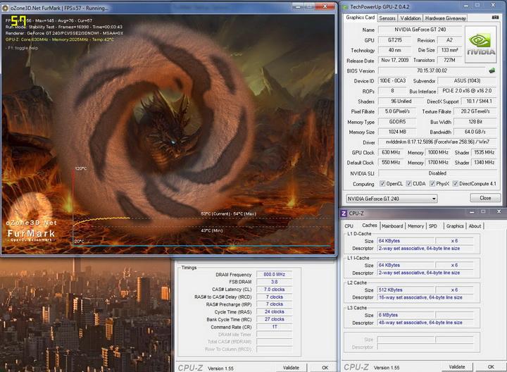 temp12 Asus ENGT240 1GB DDR5