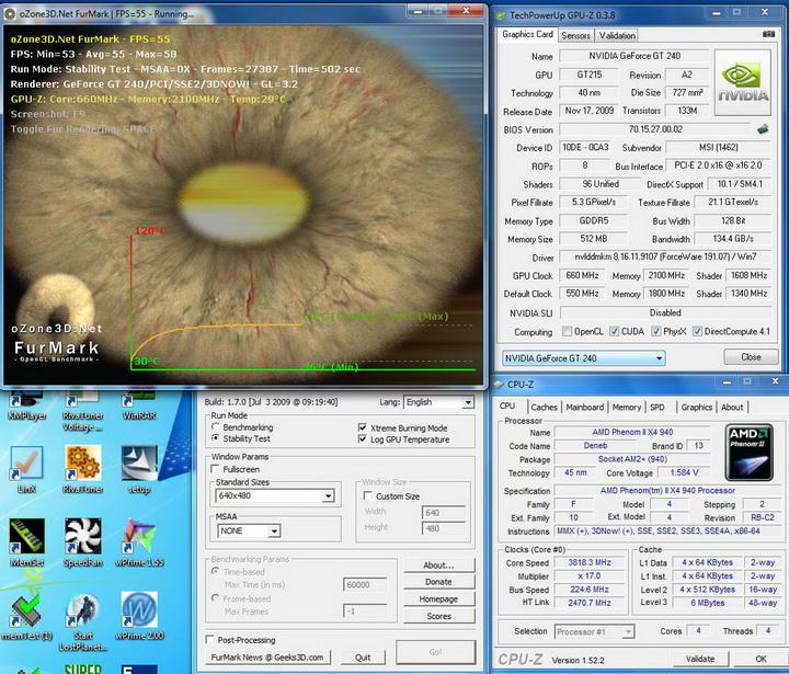 temp5 MSI N240GT OC Edition