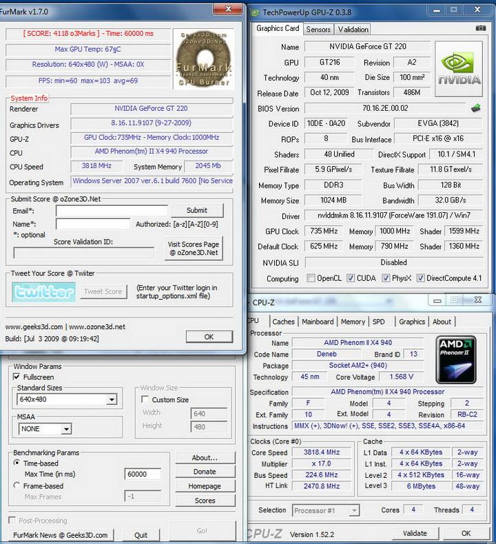 temp6 EVGA GT220 Cool..