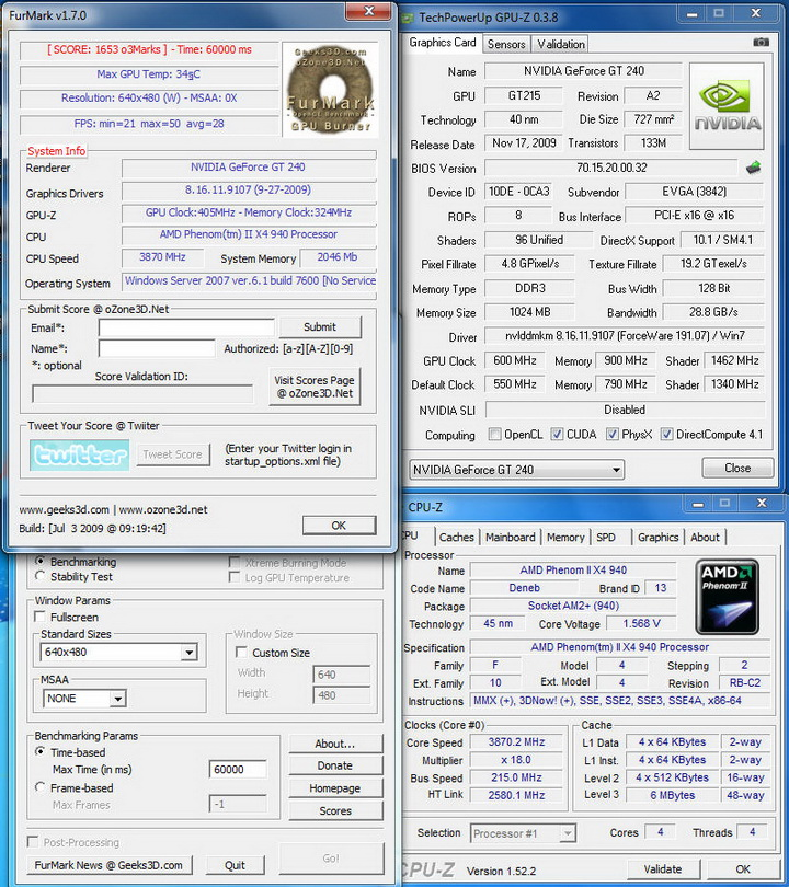 temp7 EVGA GT240 1GB DDR3