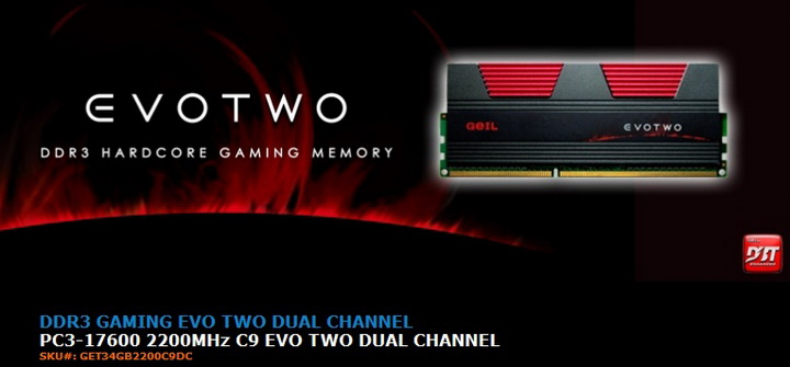g1 1 Review GEIL EVO TWO DDR3 PC 17600