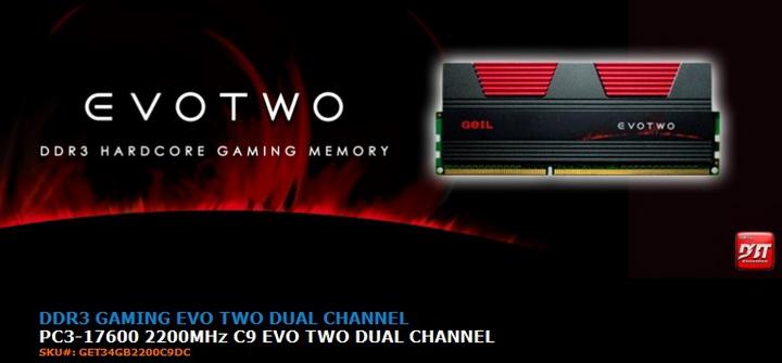 g1 1 Review GEIL EVO TWO DDR3 PC 17600