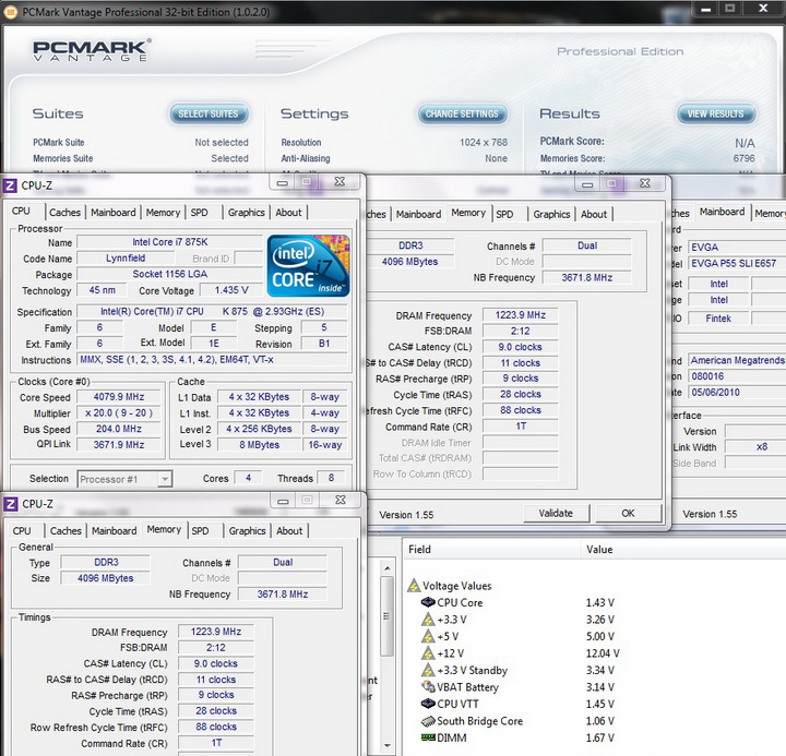 pcmark vantage 1 Review GEIL EVO TWO DDR3 PC 17600