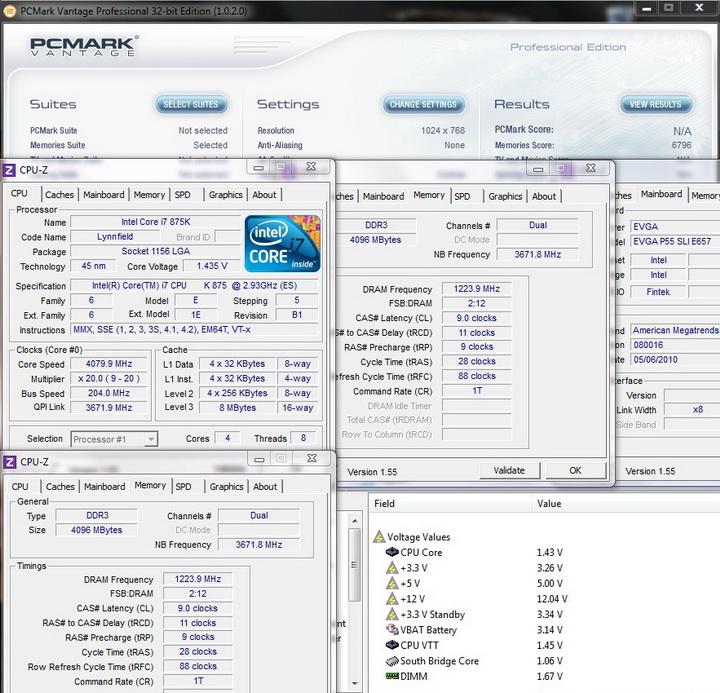 pcmark vantage 1 Review GEIL EVO TWO DDR3 PC 17600
