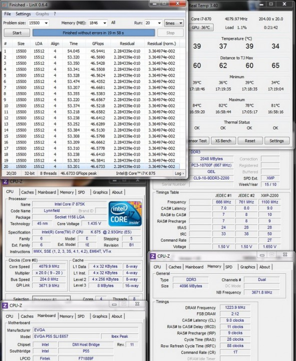 system stability 591x720 Review GEIL EVO TWO DDR3 PC 17600