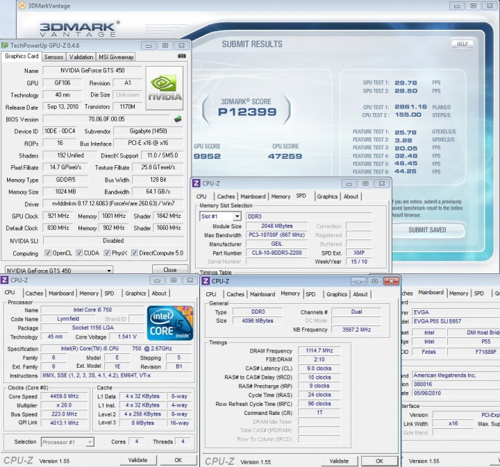 vantage 1 720x673 GIGABYTE GEFORCE GTS450 1GB GDDR5