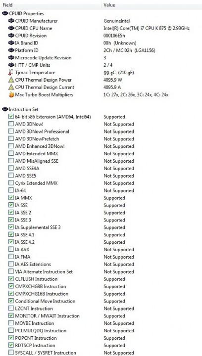 cpu details 1 1 408x720 Intel i7 875K Unlocked Processor Unleashed Power