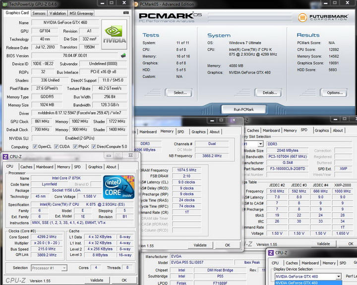 pcmark05 1 Intel i7 875K Unlocked Processor Unleashed Power