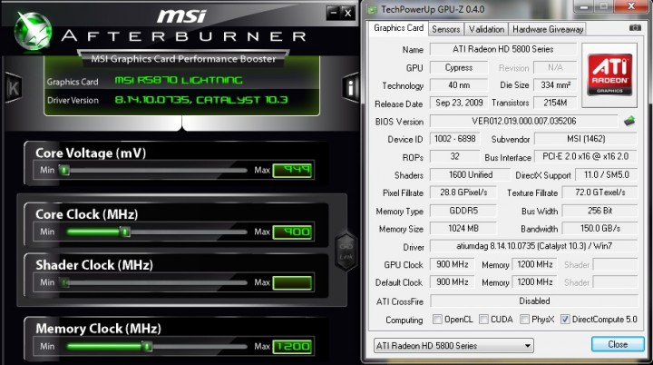 card details 720x402 MSI ATI Radeon R5870 LIGHTNING Review