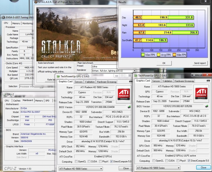 stalker 2x 720x586 MSI ATI Radeon R5870 LIGHTNING Review