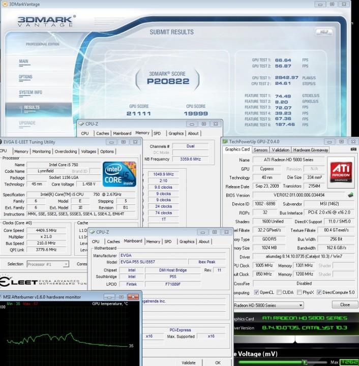 1005 vantage f 706x720 MSI ATI Radeon HD5870 Review