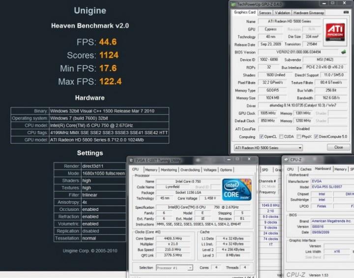 unigine f 720x566 MSI ATI Radeon HD5870 Review