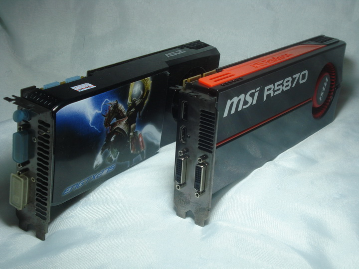 x2 MSI ATI Radeon HD5870 Review